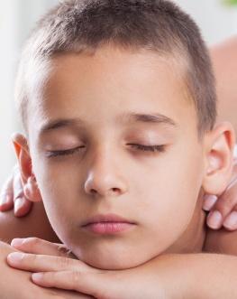 child spa treatment