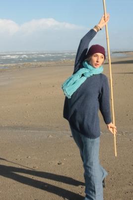 Nathalie Nguyen Qi Gong bâton Manoir de Plage Honfleur