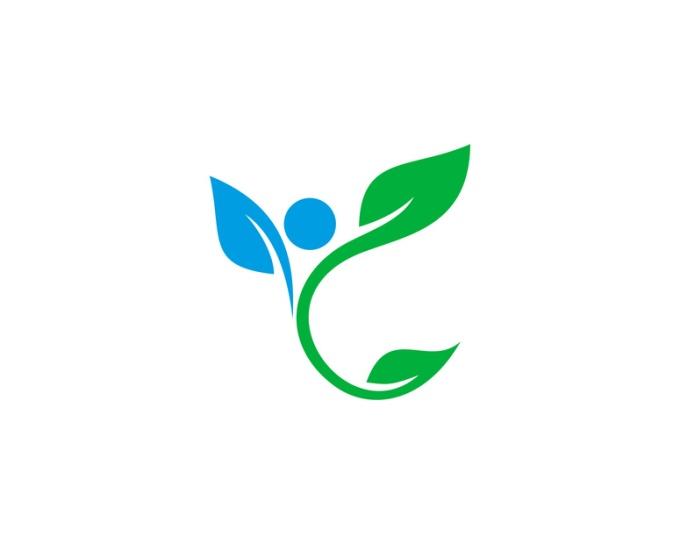 Fresh Wellness Logo Design Template Element